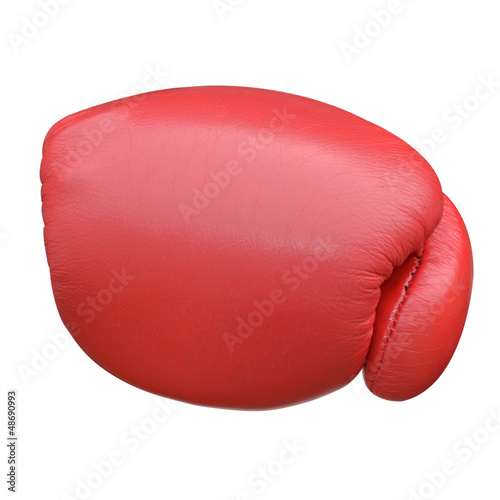Boxing gloves punch