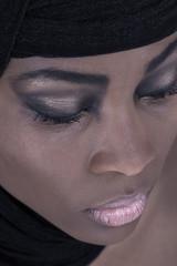Schönheit einer muslimischen Frau
