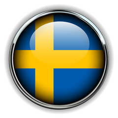 Sweden flag button