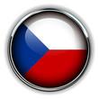 Czech Republic flag button