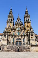 Santiago de Compostela cathedral: facade del Obradoiro