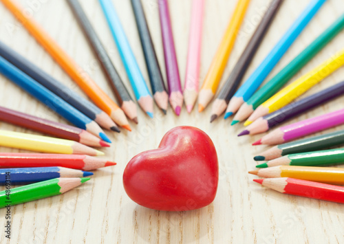 Love and pencil