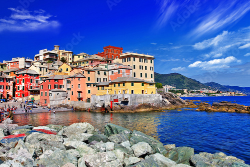 Colorful Italy series - Genova, Liguria
