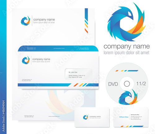 Bluebird business logo/letterhead
