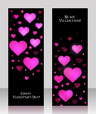 Valentine's Day Greeting Card vector background