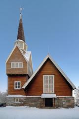 Karesuando Church, Norrbotten County, Sweden