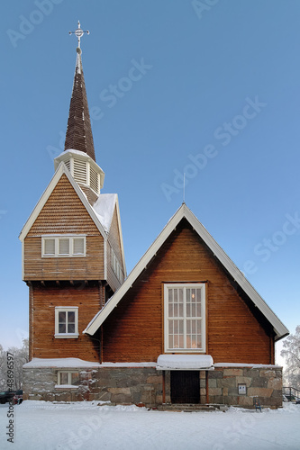 Karesuando Church, Norrbotten County, Sweden