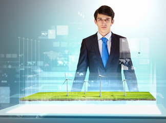 Environmental problems and high-tech innovations