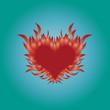 Brenndes Herz