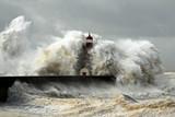 Fototapeta burzliwy - sztorm - Wybrzeże