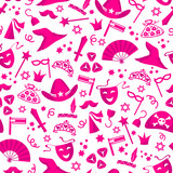 seamless pattern with costumes