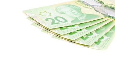 Canadian Money, Twenty Dollar Bills