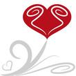 cuore fiore