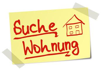 Suche Wohnung Post It  #130120-svg01