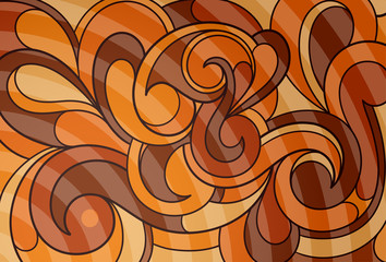 Caramel abstraction