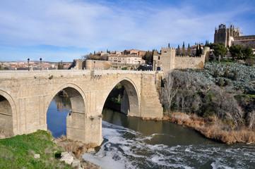 Bridge of San Martin, Toledo (Spain)