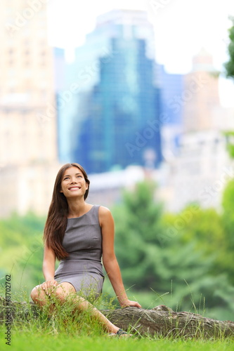 Young Asian Business woman in New York