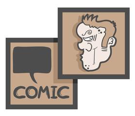 Comic frame