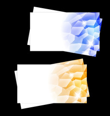 Crystalic Modern Business cards