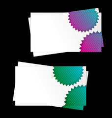 Abstract Modern Business cards