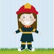 firefighter woman
