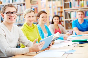 Learners in library
