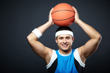 Guy with ball
