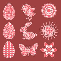 Easter design element.