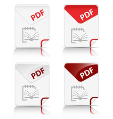 """PDF"" file type icon"