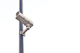 cctv with white background