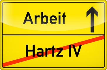 Arbeit nach Hartz IV