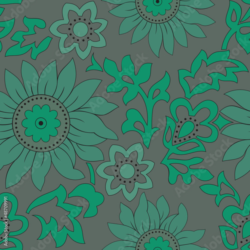 Vector-Flower background