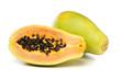 Papaya Fruits isolated