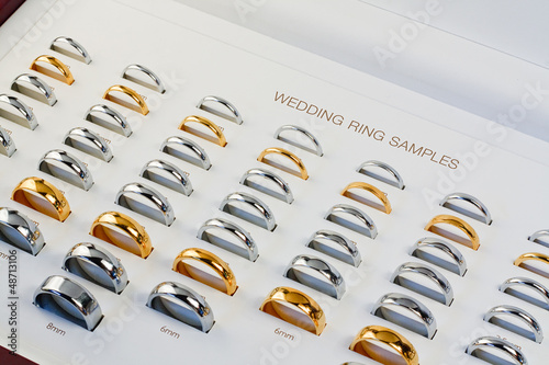Wedding Band Sample box