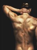 Fototapeta atrakcyjny - grzbiet - Mężczyzna