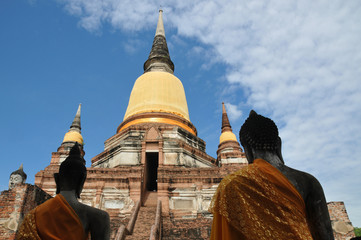 Buddhist temple in Ayutthaya - Thailand