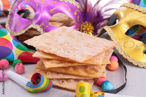 carnival pastry and decoration