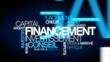 Financement investissement conseil nuage de mots vidéo