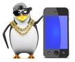 Penguin rapper recommends a smartphone