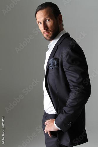 Business Mann im Anzug