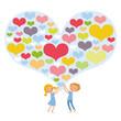 Herzige Grüße für Valentins- oder Muttertag