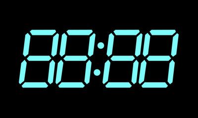 Editable Digital Clock