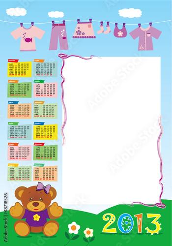 calendario base femminuccia 2013