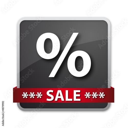 Button - Sale - Prozente