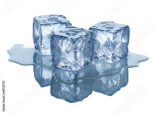 Papiers peints Cocktail ice cubes