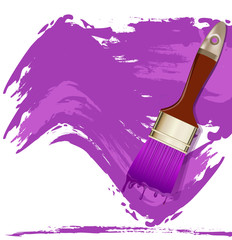 vector element for design in the form of a purple smear paint an