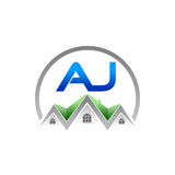 A. J. Company Logo (Real Estate)