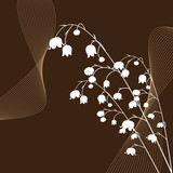 Fototapety Abstract beautiful flowers creative design