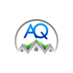 A. Q. Company Logo (Real Estate)