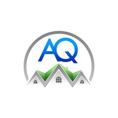 A. Q. Company Logo (Real Estate)